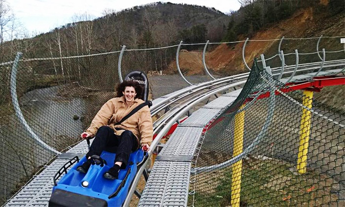 The Coaster at Goats on the Roof - The Coaster: $20 for an Alpine Roller Coaster Ride for Up to Two at The Coaster at Goats on the Roof ($30 Value)