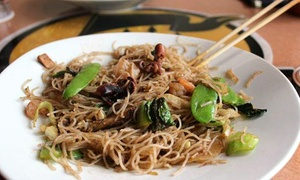 Kublai Khan: $17 or $35 Worth of Mongolian Grill and Sushi at Kublai Khan