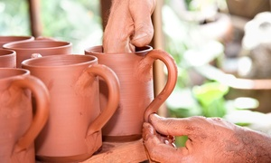 Pottery Loft Studio: One 90-Minute BYOB Adult Pottery Class for One or Two at Pottery Loft Studio (Up to 53% Off)