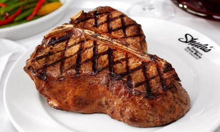 Steakhouse Cuisine for Two or Four at Shula's Steak House (Up to 33% Off)
