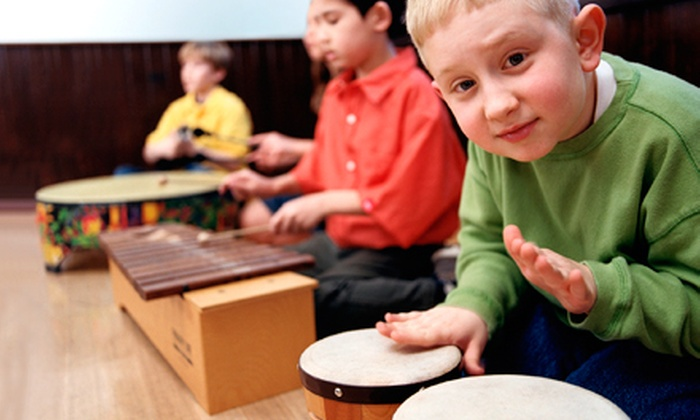 MusicalMe - Multiple Locations: $136 for 12 Kids' Music Classes at MusicalMe ($230 Value). 12 Options Available.