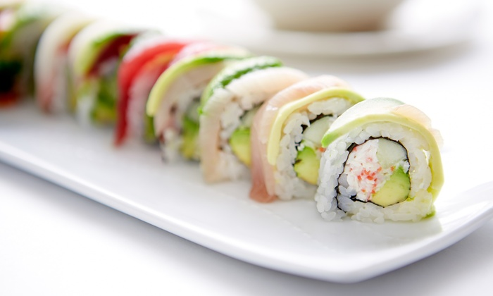 Sushi House - Lawrence: Sushi Meal for Two or Four with Soups and Salads at Sushi House (Up to 48% Off). Groupon Reservation Required.