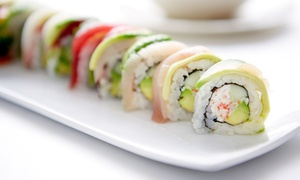Riptide Rockin' Sushi & Teppan Grill: Lunch, Brunch, and Dinner at Riptide Rockin' Sushi & Teppan Grill (Up to 40% Off). Three Options Available.