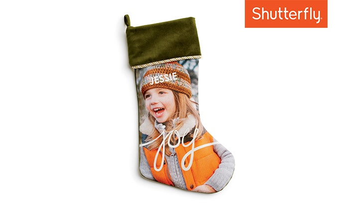 Shutterfly: Up to 57% Off Custom Stocking from Shutterfly