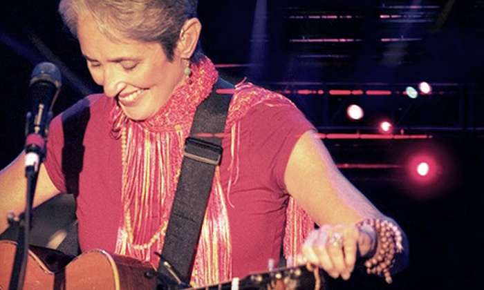 Joan Baez with the Indigo Girls - NJPAC: Joan Baez with the Indigo Girls at New Jersey Performing Arts Center on June 19 at 7:30 p.m. (Up to Half Off)