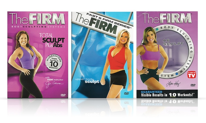 The Firm Workout Dvds Multiple Programs Available
