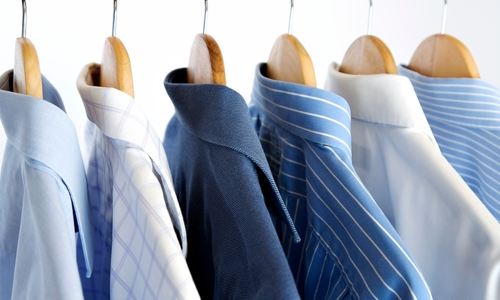Martinizing Dry Cleaning - Multiple Locations: Dry-Cleaning and Pressing Services at Martinizing Dry Cleaning (50% Off). Six Locations Available.
