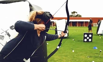 1 Stunde Arrowtag spielen für bis zu 8 Personen inklusive Einweisung im Sport- und Freizeitpark Gelsenkirchen