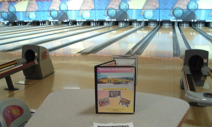 North Bowl - Spokane: $7 for Two Games of Bowling, Shoe Rental, and One Drink at North Bowl (Up to $17.25 Value)