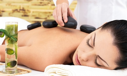 One or Three 60-Minute Swedish or Hot-Stone Massages at Indulge Salon & Day Spa (Up to 63% Off)