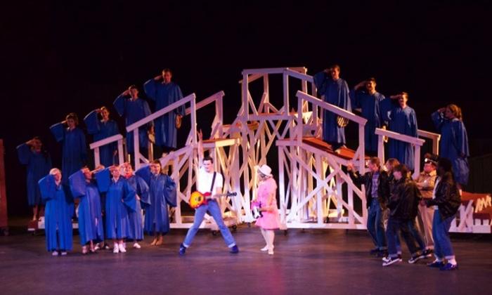 """All Shook Up"" - J. Dan Talbott Amphitheatre: ""All Shook Up"" at J. Dan Talbott Amphitheatre on July 16, 18, or 25 (Up to 50% Off)"