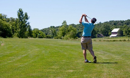 9-Hole Round of Golf for Two or Four Plus Cart at Argue-Ment Golf Course (Up to 52% Off)