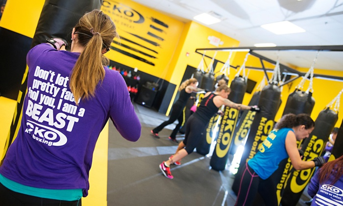 CKO Kickboxing South Charlotte - South Charlotte: Three, Five, or Ten Kickboxing Classes with Gloves at CKO Kickboxing (Up to 76% Off)