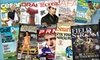 Blue Dolphin Magazines **NAT**: $10 for Subscription to Choice of 10 Magazines (Up to $20 Value)
