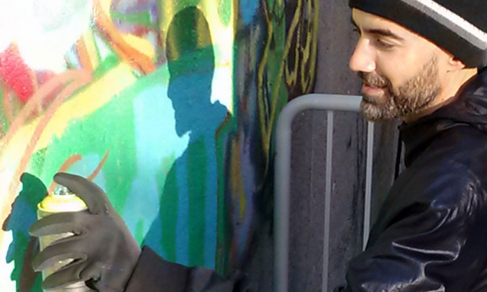 Live Graffiti Demo and Art Class - Brookland: Create Street Art with Renowned Graffiti Artist Rajan Sedalia