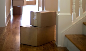 Shirtless Movers: Two Hours of Moving Services with Two Movers and Supplies from Shirtless Movers (25% Off)