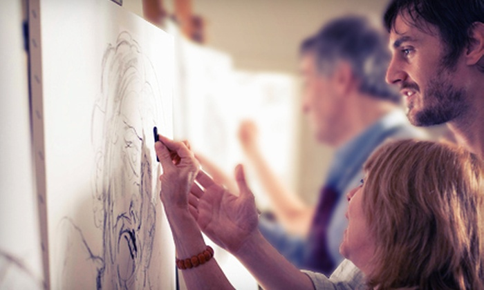 Art Poison - Mid-Wilshire: One, Two, or Four Sketching Classes at Art Poison (Up to 66% Off)
