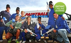 Paintball Heaven: Paintball Games for up to Eight People from R279 at Paintball Heaven (Up to 57% Off)