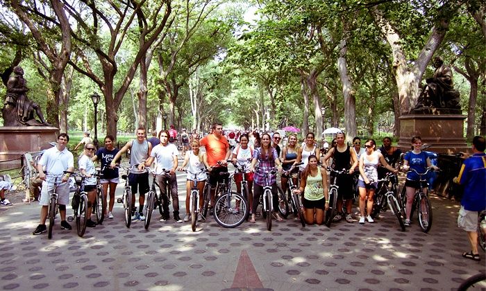 Central Park Tours Inc. - New York: Two-Hour Walking or Bike Tour for Two or Four from Central Park Tours Inc. (Up to 54% Off)