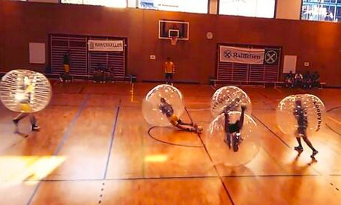Strawberry Sport - Middlebrook Mill: Bubble Football For 10 or 20 People from £39 with Strawberry Sport (Up to 80% Off)