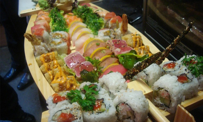 Maru Sushi & Grill - Ozark: Pan-Asian Food and Sushi for Two or Four at Maru Sushi & Grill (Half Off)