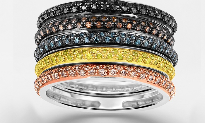 1/3 ct.tw. Diamond Rings - Stackable: 1/3 ct.tw. Diamond Rings - Stackable. Multiple Options Available. Free Shipping and Returns.