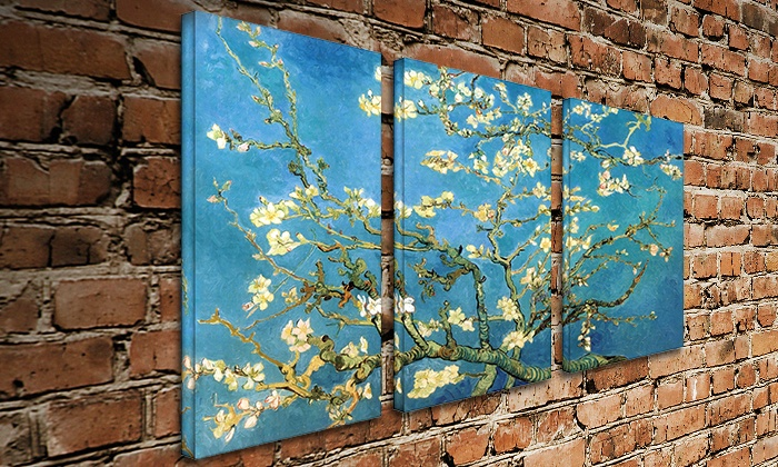 ARTWALL - Lakewood: $209 for Vincent van Gogh Triptych from ARTWALL ($399 Value)
