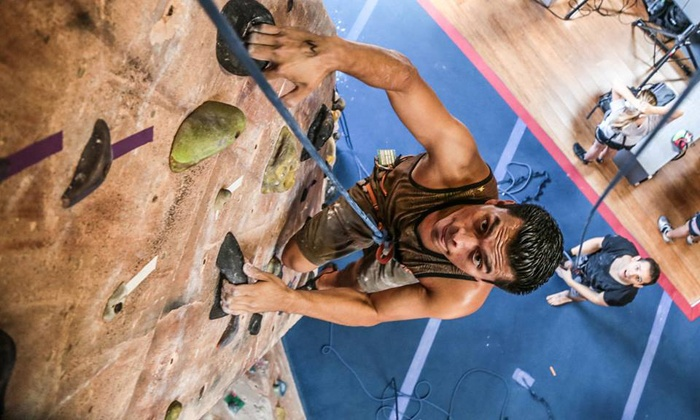 Rockreation - West Los Angeles: Intro to Rock-Climbing Class for One or Two at Rockreation (Up to 47% Off)
