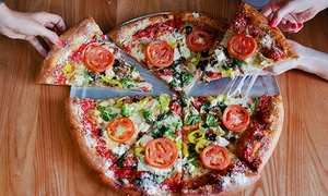 Mellow Mushroom: $15 for $25 Worth of Pizza, Hoagies, and Salads at Mellow Mushroom