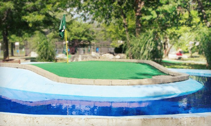 Perche Creek Golf Club - Columbia: Two or Four 18-Hole Rounds of Miniature Golf at Perche Creek Golf Club (Up to 54% Off)