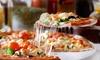 Pizzeria Porthos - San Giorgio Di Piano: Menu pizza d'asporto per 2, 4, 6 o 8 persone da Pizzeria Porthos (sconto fino a 68%)