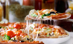 Cleopatra's Bistro: Stone-Baked Pizza with Drink for Up to Six at Cleopatra's Bistro (Up to 65% Off)