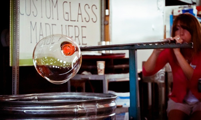 Glass Academy - Dearborn: $59 for a Bead and Bubble Glassblowing Class at Glass Academy ($125 Value)