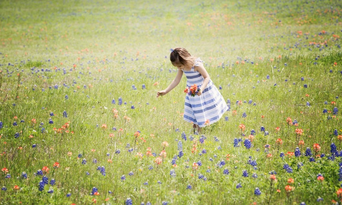 Sugar Plum Fairy Photography - Sugar Land: 30- or 60-Minute Children's Outdoor Photo Shoot with Edited Images from Sugar Plum Fairy Photography (75% Off)