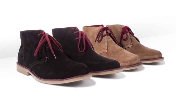 chukka herren boots aus wildleder groupon goods. Black Bedroom Furniture Sets. Home Design Ideas