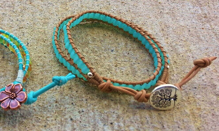A Bead Just So - Ballston Spa: Bracelet-Making Class for One or Two at A Bead Just So (50% Off)