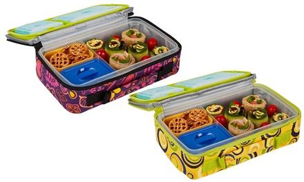 kids 39 insulated bento lunch kit groupon goods. Black Bedroom Furniture Sets. Home Design Ideas