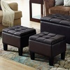 Dover Rectangular Storage Ottoman Set (3pc.)