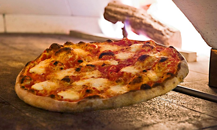 Pizzeria Serio - North Side: Brick-Oven Pizzas and Sandwiches, Valid Tuesday–Thursday or Friday–Sunday at Pizzeria Serio (Up to 52% Off)