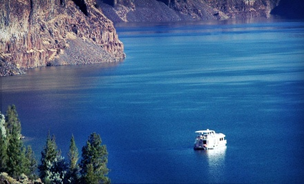 Four-Day Rental of a 10-Person Sleeper Houseboat or $1,995 Toward Any Houseboat Rental, Valid May 20June 20 - Cove Palisades Resort and Lake Billy Chinook Houseboats in Culver
