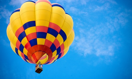 Sunrise Hot-Air Balloon Ride for One Plus Champagne Toast from So Cal Ballooning (52% Off)