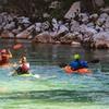 Excursión en piragua, escalada o rápel y picnic