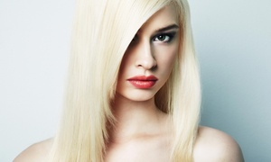 Salon M21: Haircut, Blow-Dry, and Deep-Conditioning Treatment or Partial Highlights at Salon M21 (Up to 53% Off)