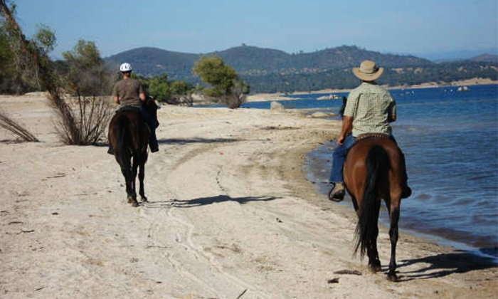 Boarding On The Lake - Granite Bay: Trail Ride with Picnic for One, Two, or Three from Boarding On The Lake (Up to 56% Off)