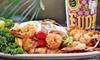 Fudpucker Management Company, LLC - Destin: $15 for 40 Arcade Tokens & $20 Worth of Burgers, Seafood & Drinks at Fudpucker's Beachside Bar & Grill ($30 Total Value)