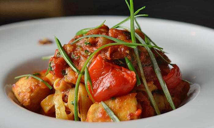 Rooftop 120 - Main Street Historic District: $17 for $35 Worth of Progressive American Cuisine for Parties of Two or More at Rooftop120