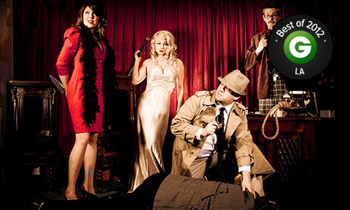 The Murder Mystery Company - Central Hollywood: Murder-Mystery Dinner for One, Two, or Four from The Murder Mystery Company (Up to 55% Off)
