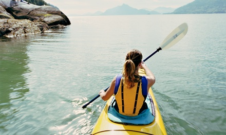 Kayak or Paddleboard Rental for One, or Tandem Kayak Rental for Two  from Getboards Ride Shop (Up to 56% Off)