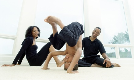 One Month or One Year of Unlimited Kids & Family Yoga at Yayso Yoga (Up to 54% Off)