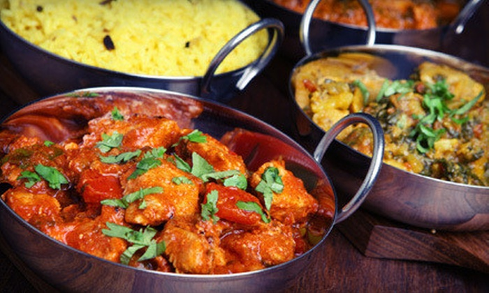 The New Nupur - Glebe - Dows Lake: Weekday Indian Lunch Buffet for Two or Multi-Course Prix Fixe Meal with Dessert for Two at The New Nupur (Half Off)